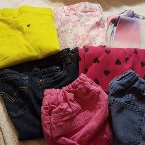 Other - Girls size 8 bottoms